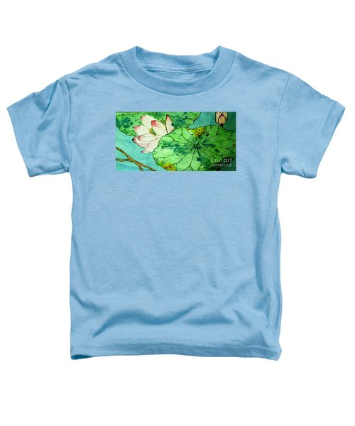Shy Lotus Toddler T-Shirt