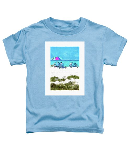Siesta Key Beach Bikes Toddler T-Shirt