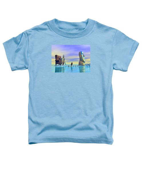 Silent Mind - Surrealism Toddler T-Shirt