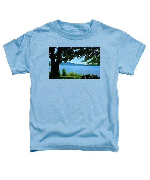 Smith Mountain Lake Sailor Toddler T-Shirt