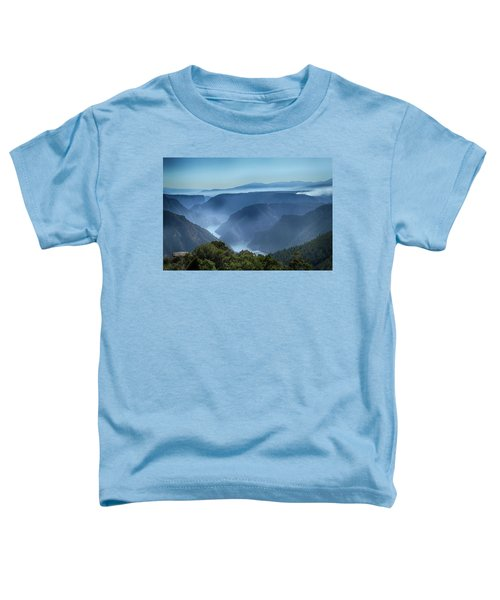 Smoke Over Flaming Gorge Toddler T-Shirt