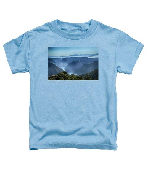Smoke Over Flaming Gorge Toddler T-Shirt