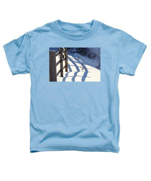 Snow, Sun And Shadows Toddler T-Shirt