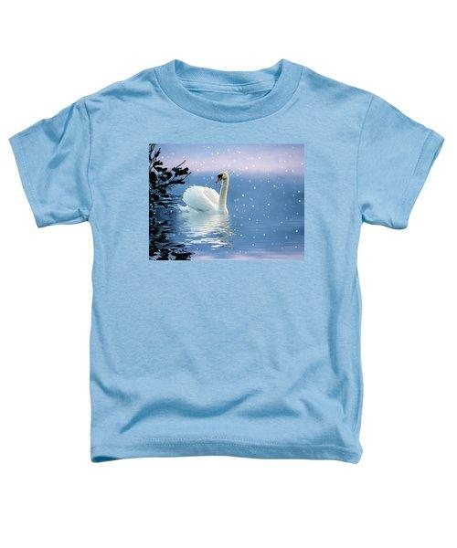 Snow Swan Swim Toddler T-Shirt