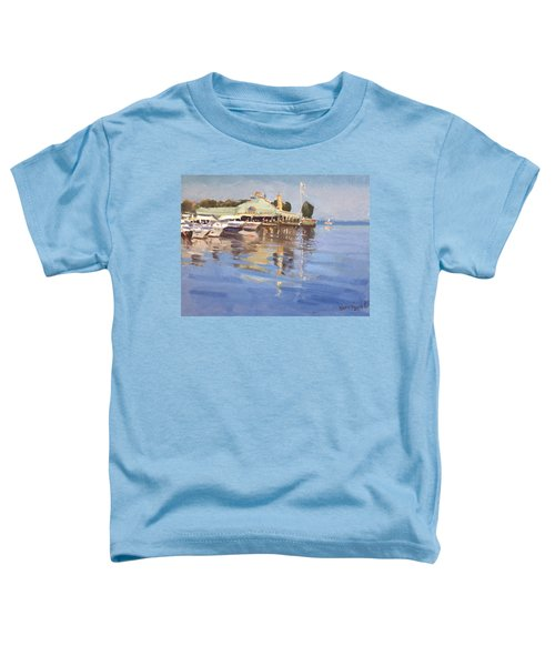 Snug Harbour At Port Credit Toddler T-Shirt
