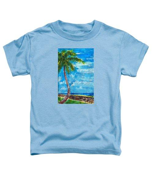 South Beach Wall Toddler T-Shirt