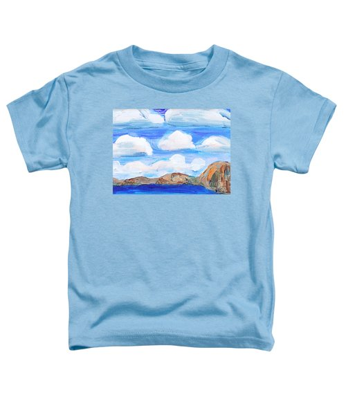 South Morro Bay View To North Toddler T-Shirt