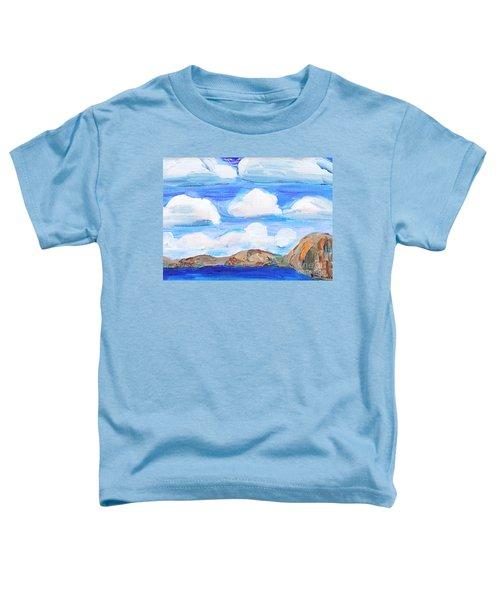 South Morro Bay View To North Toddler T-Shirt