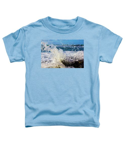 Wave Crash And Splash Toddler T-Shirt
