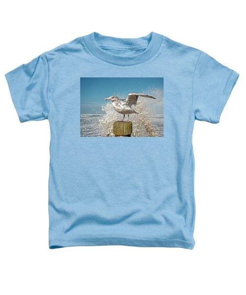Splash Gull Toddler T-Shirt