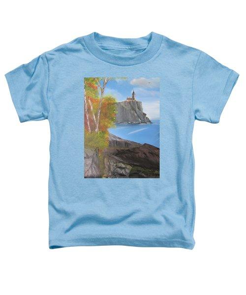 Split Rock Lighthouse Minnesota Toddler T-Shirt