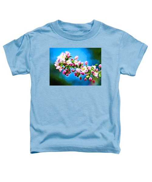 Toddler T-Shirt featuring the photograph Spring Impressions by Greg Norrell