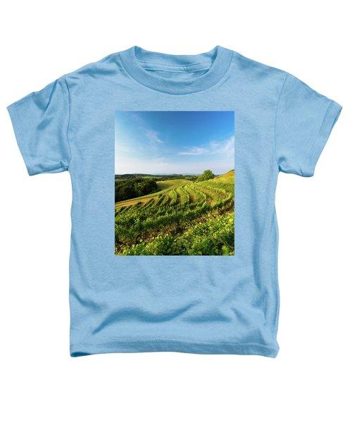 Spring Vinyard Toddler T-Shirt