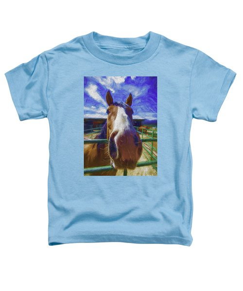 Stable Blues  Toddler T-Shirt