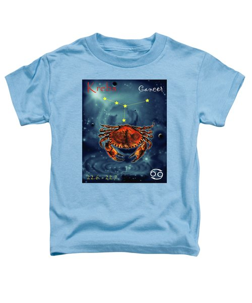 Star Of Cancer Toddler T-Shirt