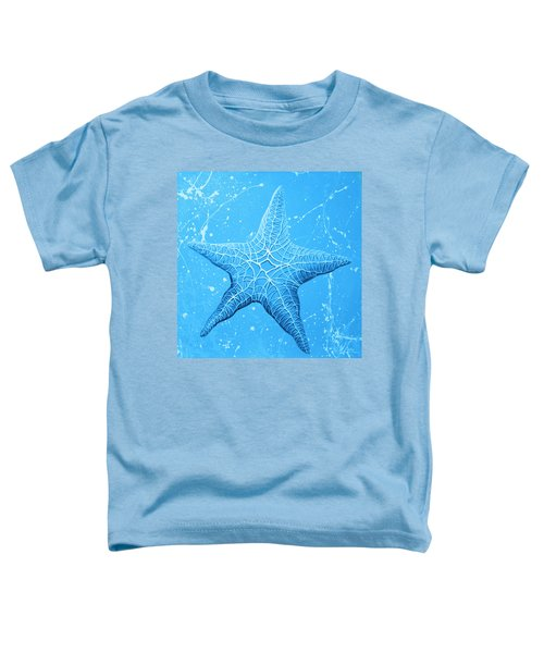 Starfish In Blue Toddler T-Shirt