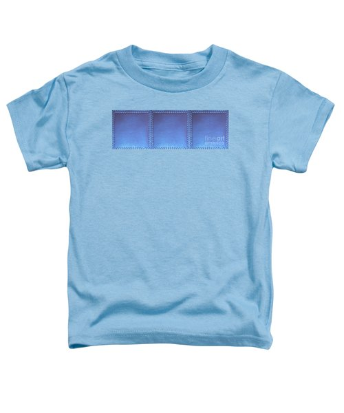 Stiched Leather Look Blue Abstract Wall Decorations By Navinjoshi At Fineartamerica.com Download Jpg Toddler T-Shirt