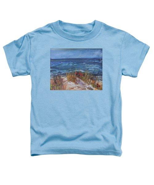 Strangers On The Shore Toddler T-Shirt