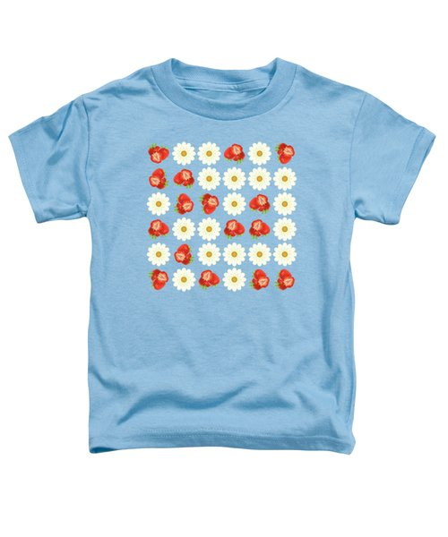 Strawberries And Daisies Toddler T-Shirt
