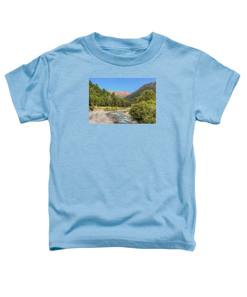 Streaming Through The Alps Toddler T-Shirt