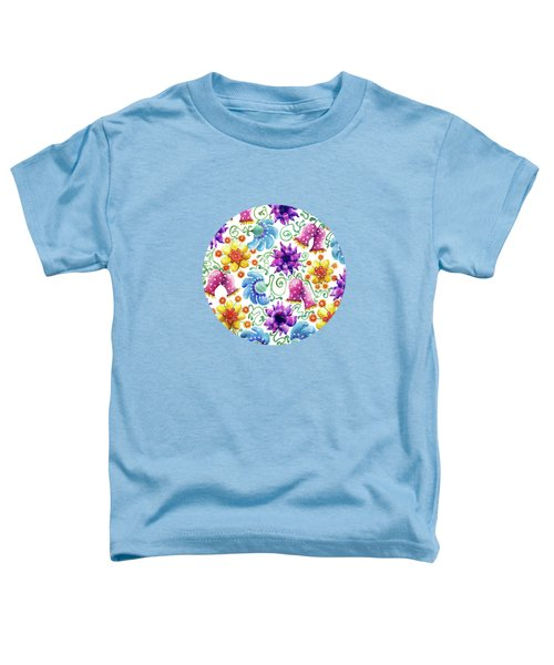 Summer Flowers Toddler T-Shirt