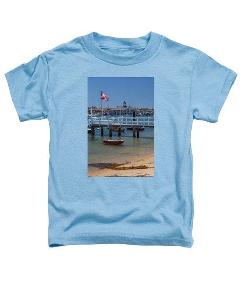 Summertime In  Newport Beach Harbor Toddler T-Shirt