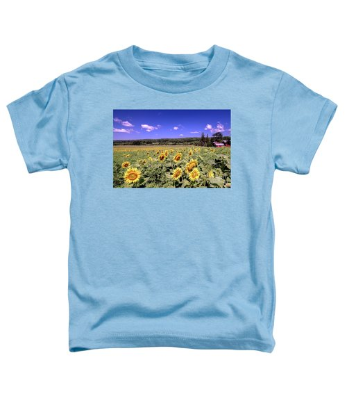 Sunflower Farm Toddler T-Shirt
