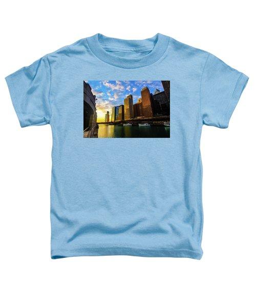Sunrise At Navy Pier Toddler T-Shirt