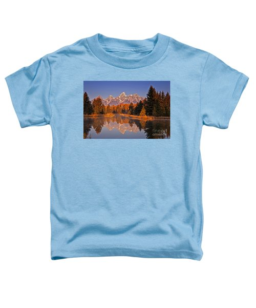 Sunrise At Schwabacher Landing  Toddler T-Shirt