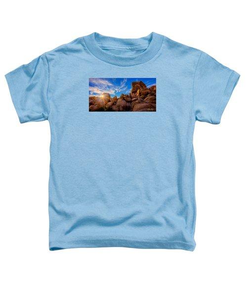Sunrise At Skull Rock Toddler T-Shirt