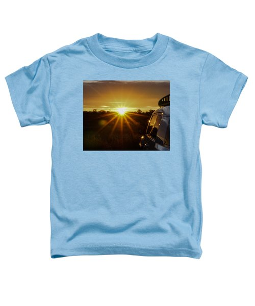 Sunrise And My Ride Toddler T-Shirt