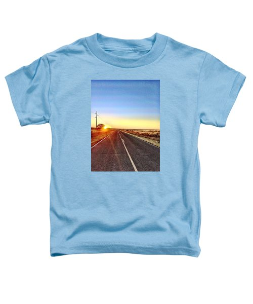 Sunrise Road Toddler T-Shirt