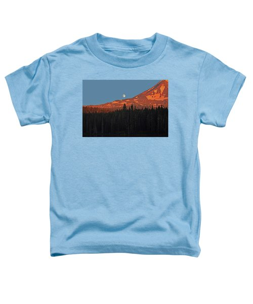 Sunset And Sunrise At Mt Adams Toddler T-Shirt