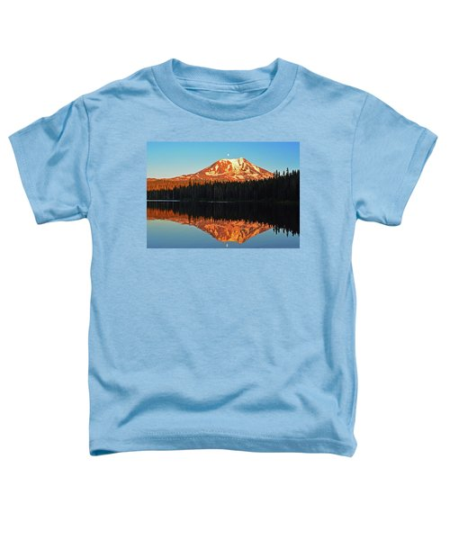 Sunset And Sunrise Mt Adams Toddler T-Shirt