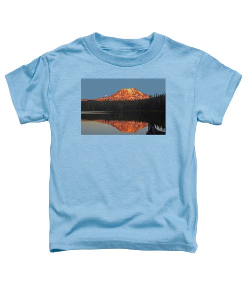 Sunset And Moonrise At Takhlakh Lake Toddler T-Shirt