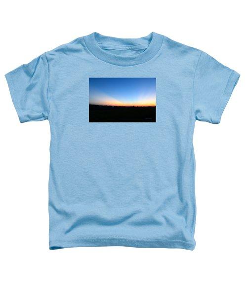 Sunset Blue Toddler T-Shirt