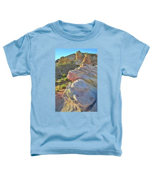 Sunset Pastels In Valley Of Fire Toddler T-Shirt