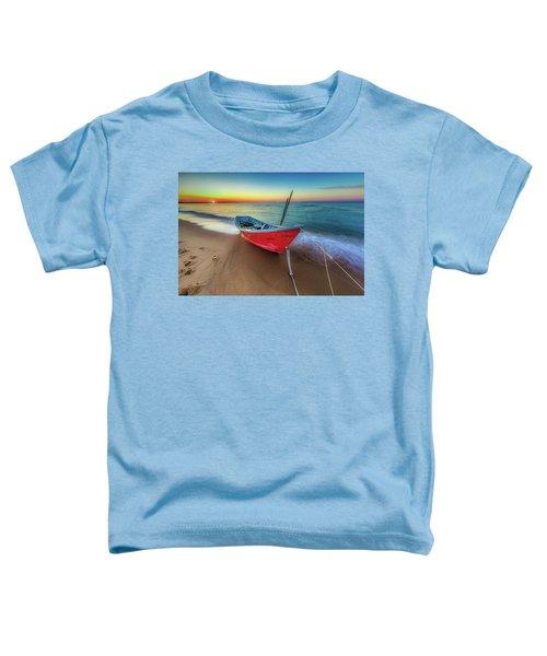 Sunset Skiff Toddler T-Shirt