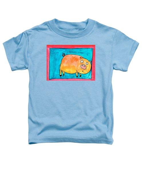 Surprised Pig Toddler T-Shirt