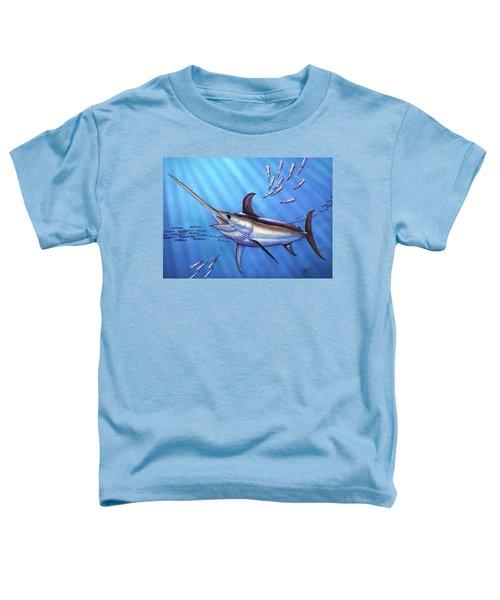 Swordfish In Freedom Toddler T-Shirt