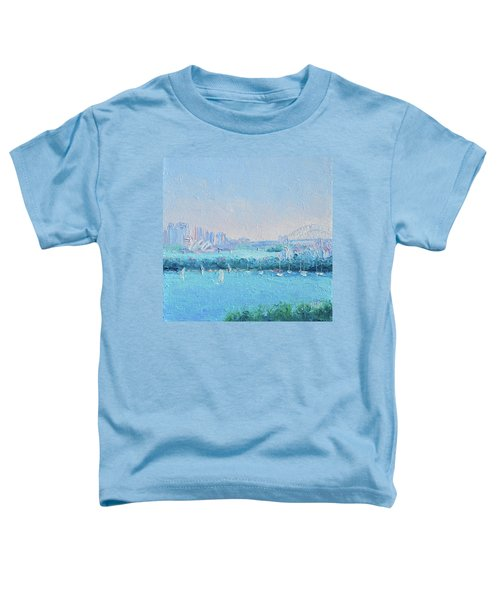 Sydney Harbour And The Opera House Toddler T-Shirt by Jan Matson