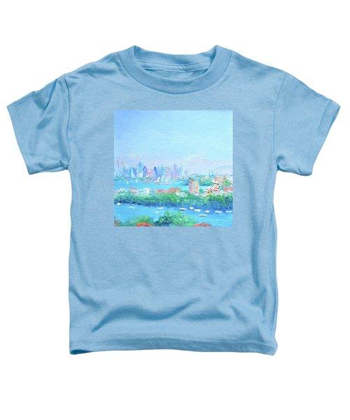 Sydney Harbour Impression Toddler T-Shirt