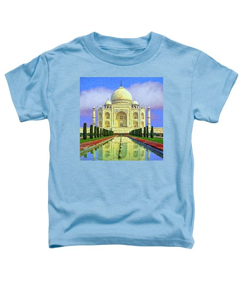 Taj Mahal Morning Toddler T-Shirt