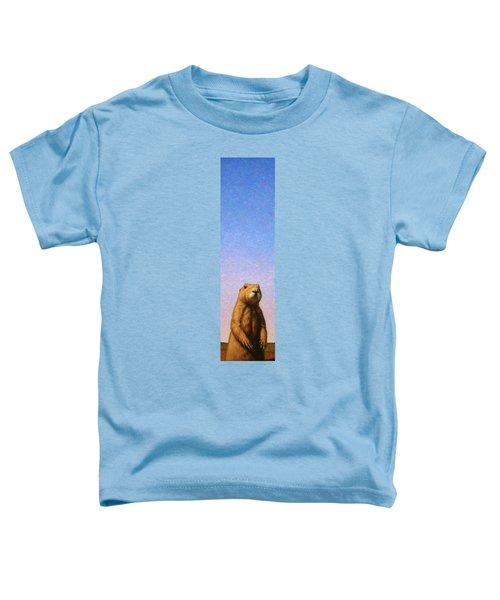 Tall Prairie Dog Toddler T-Shirt by James W Johnson