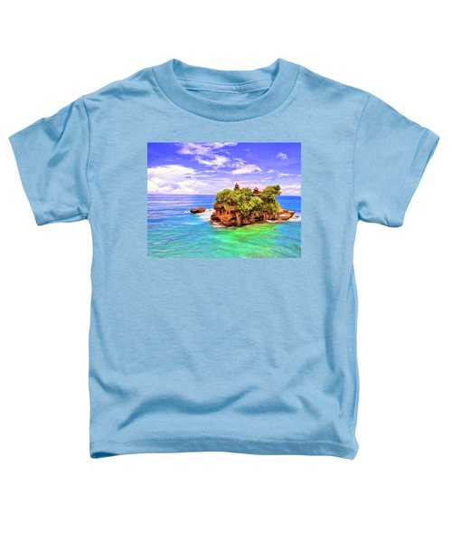Tanah Lot Temple Bali Toddler T-Shirt