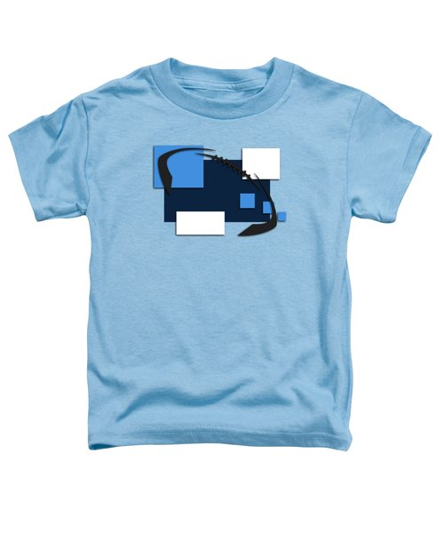Tennessee Titans Abstract Shirt Toddler T-Shirt by Joe Hamilton