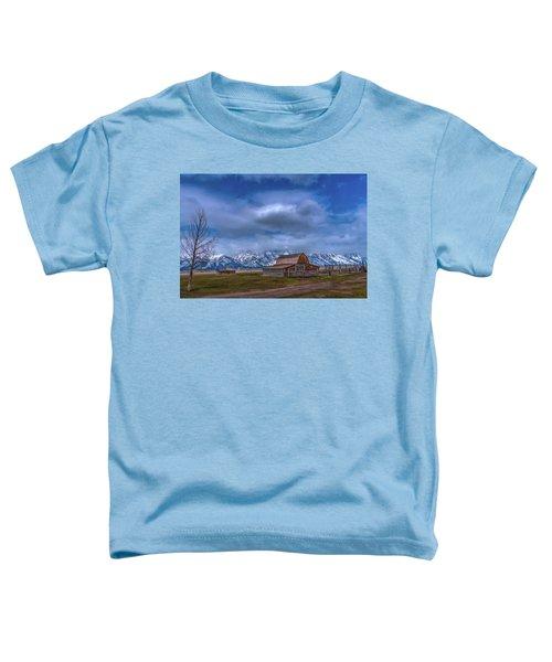 Teton National Park Mormon Row Toddler T-Shirt