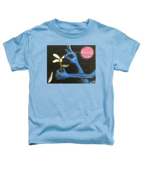 The Alien Loves Me... The Alien Loves Me Not Toddler T-Shirt