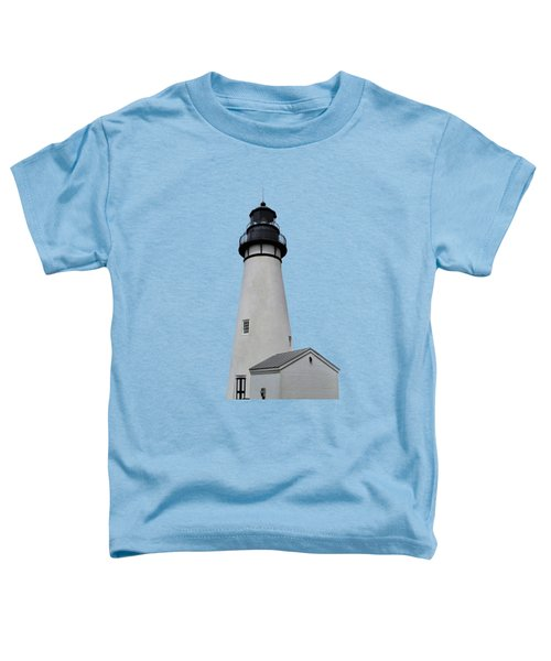The Amelia Island Lighthouse Transparent For Customization Toddler T-Shirt