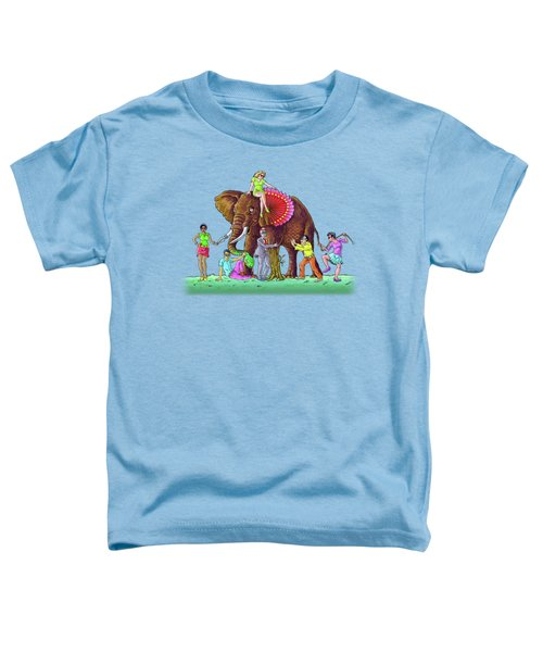 The Blind And The Elephant Toddler T-Shirt